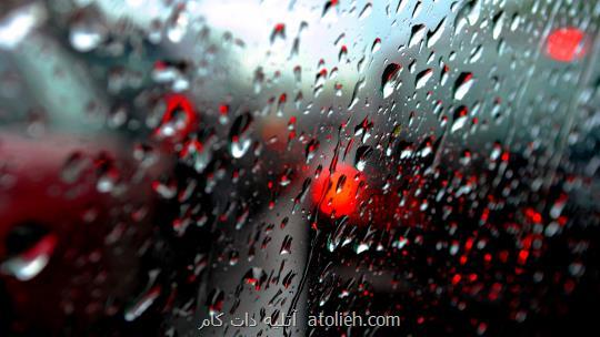 عکاسی حرفه ای از قطرات باران